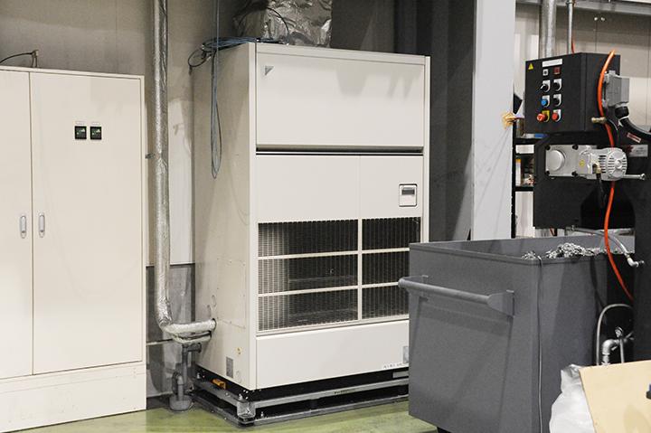 工場内空調設備
