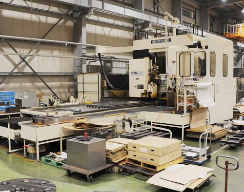 大型・大物部品の機械加工